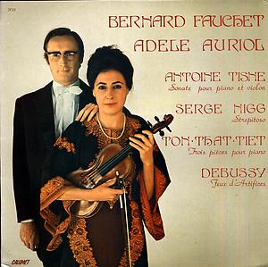 Bernard Fauchet Adèle Auriol